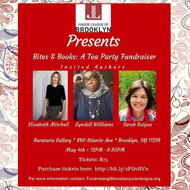 FLASH SALE: $50 Tickets Today Only  Visit the link in our bio to purchase tickets.  Grab your fancy hats, pretty fascinators and gorgeous Spring attire for an afternoon of tea, savories & sweets, author readings and Mother's Day Shopping with the ladies of the Junior League of Brooklyn.  A portion of the proceeds will go towards the Junior League of Brooklyn's programming benefiting our local community.