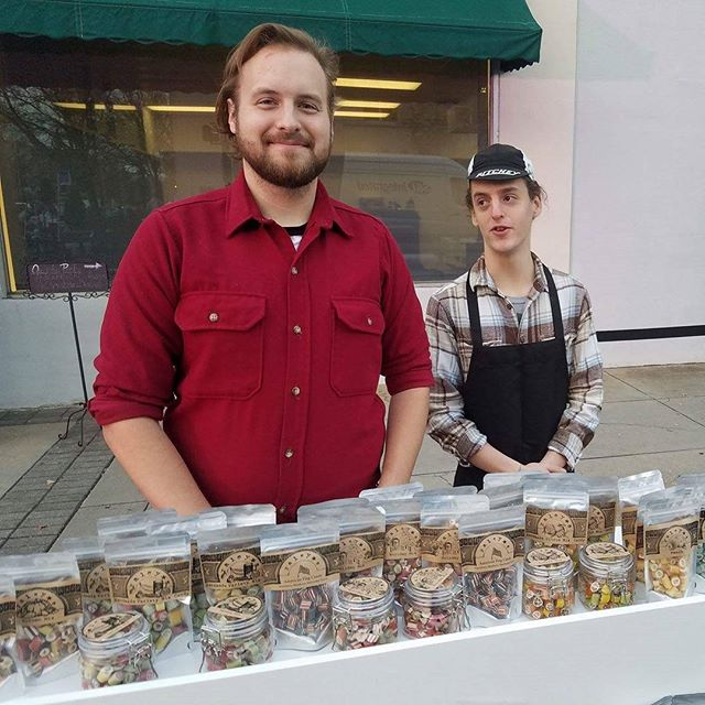 Randy, Marc and Uri will be at Victorian Christmas today and tomorrow in Thomasville demonstrating candy making and, of course, selling candy. #handmadecandy #victorianchristmas #thomasville