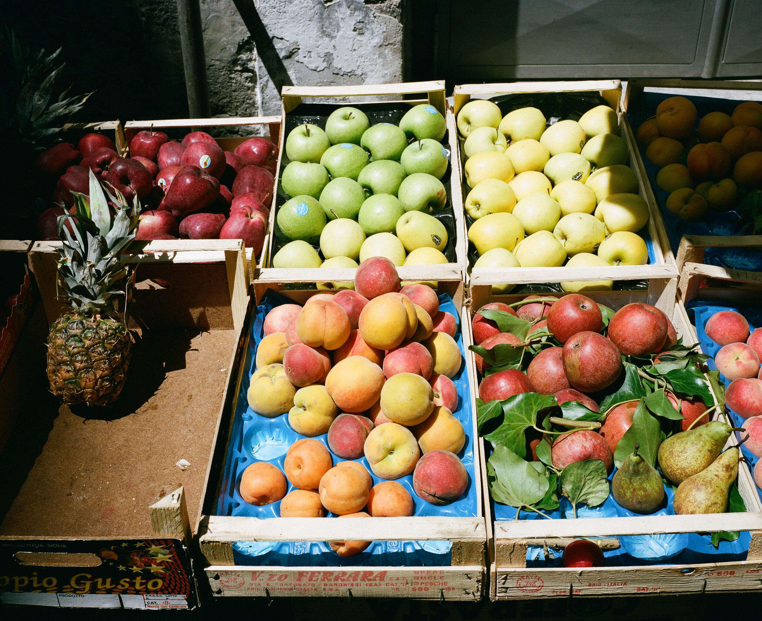 Fruit in Italian Market