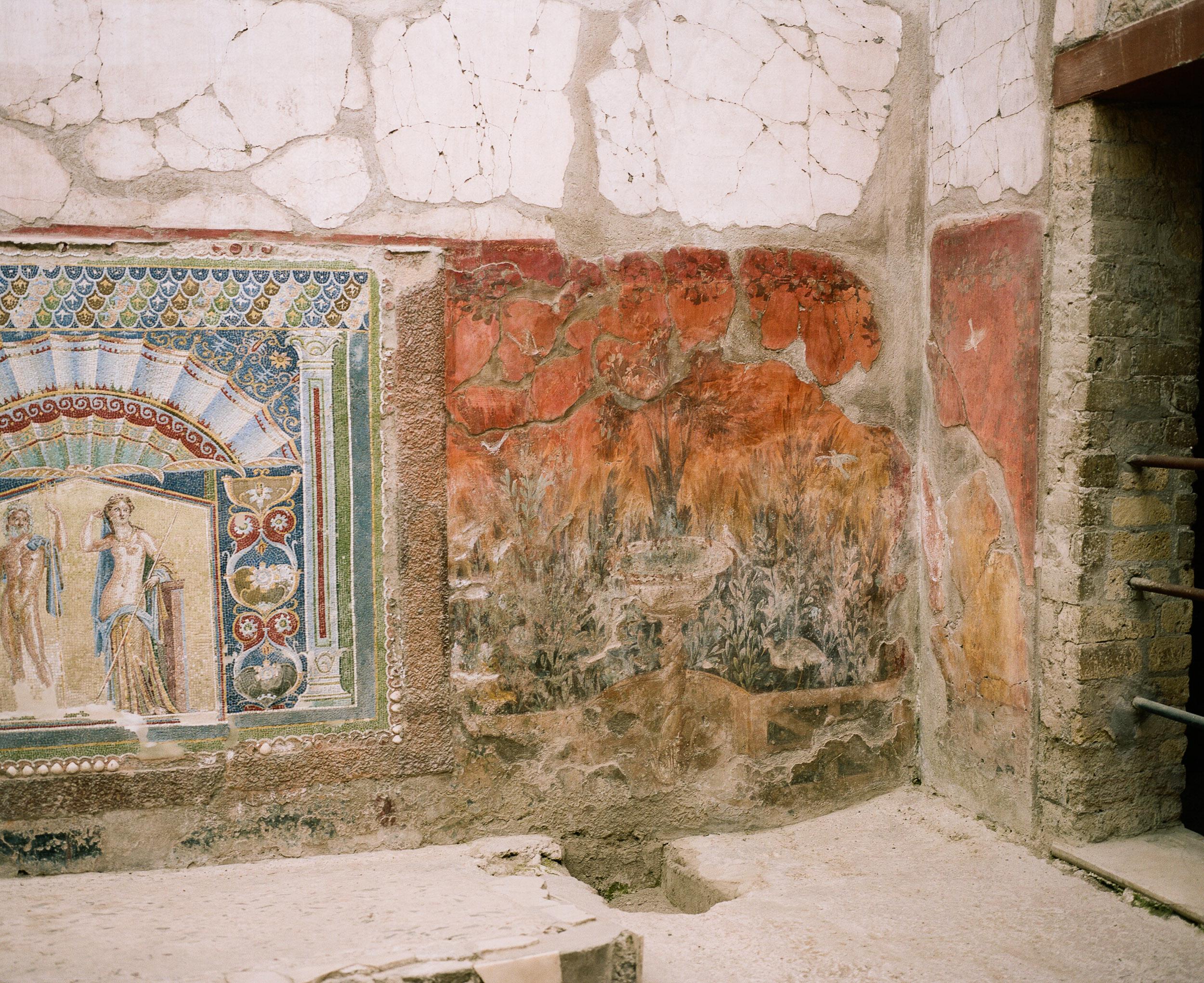 Herculeum mural