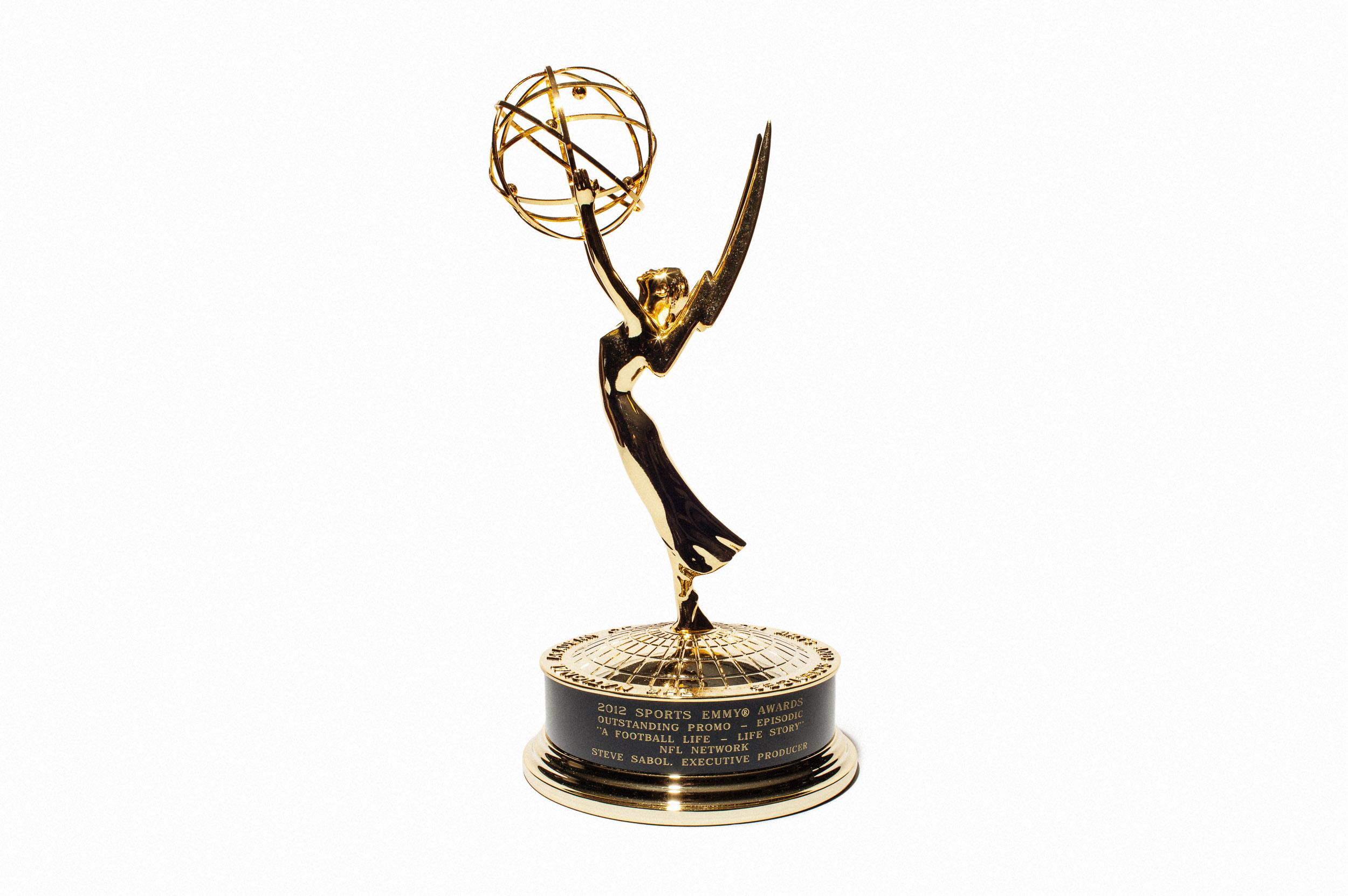 Oscar Statue- NFL FILMS for Victory Journal