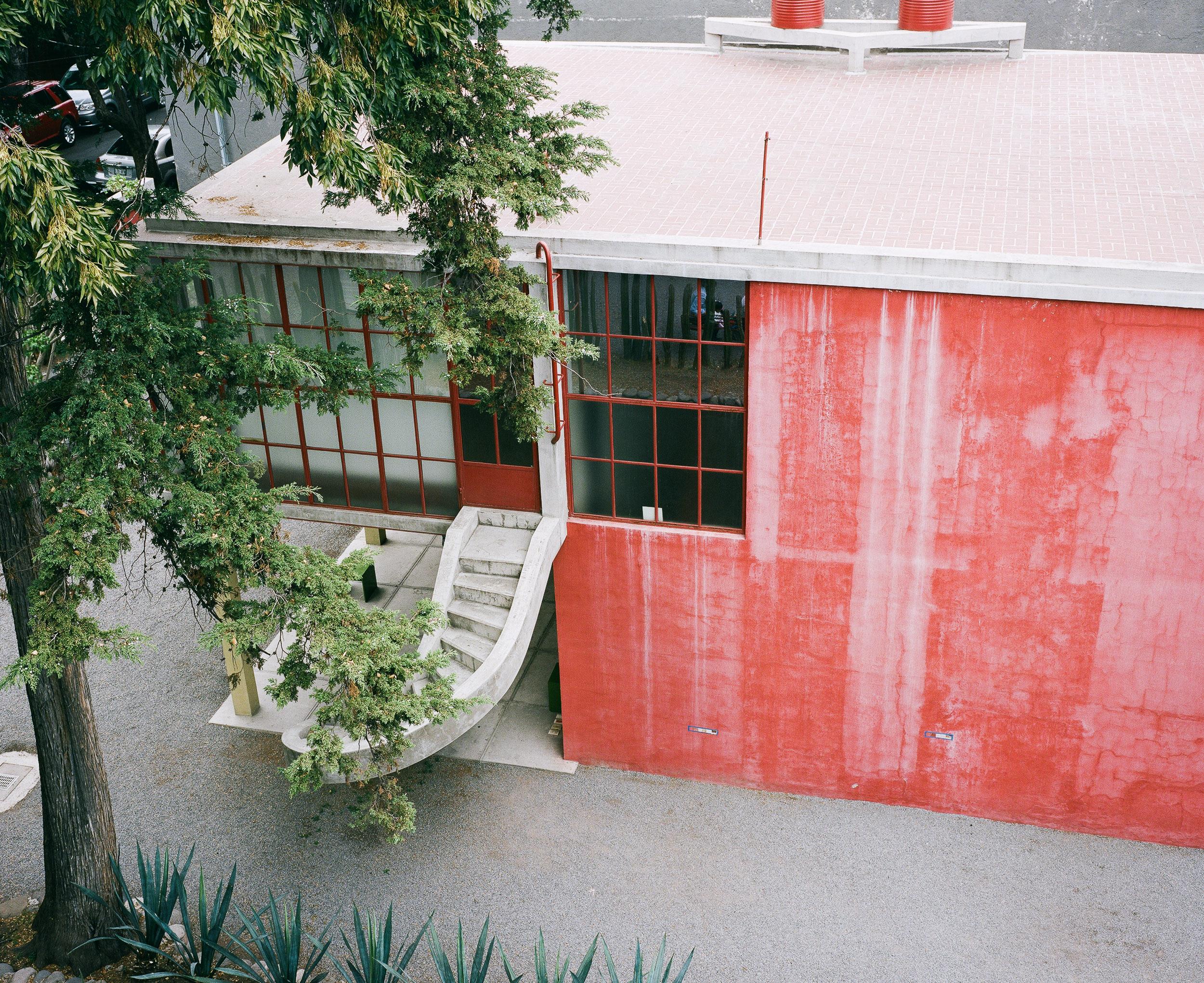 Deigo Rivera/ Frida Kahlo Studios, San Angel, Mexico City