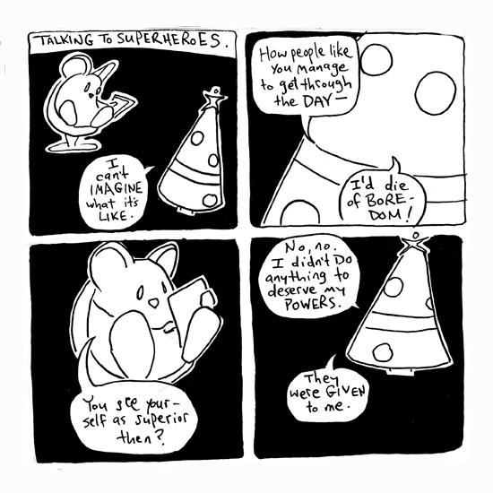 Talking to Superheroes part 01