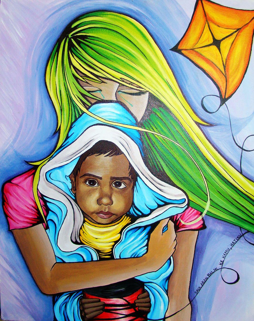 """Acrylic on canvas  16""""x24"""""""