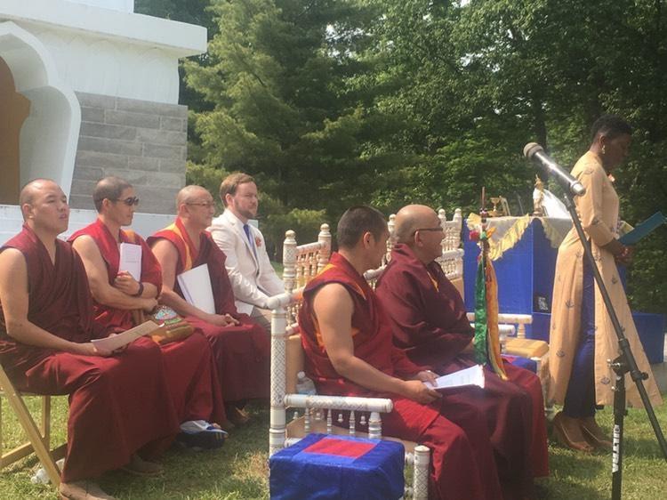 May 2016: Wedding at Tibetan Mongolian Center, IN