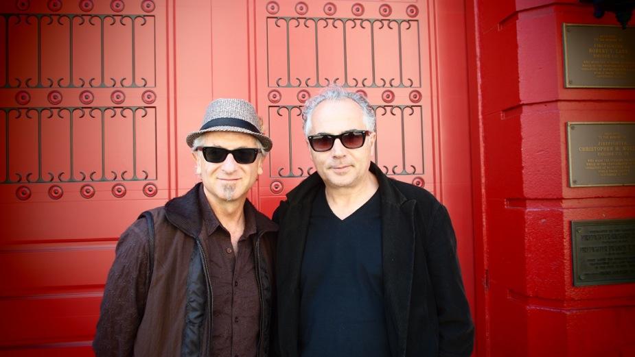 Dean Mermell (L) and Mauro ffortissimo
