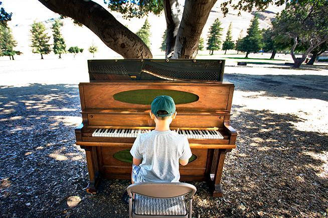 2015 Bach To Nature pianist