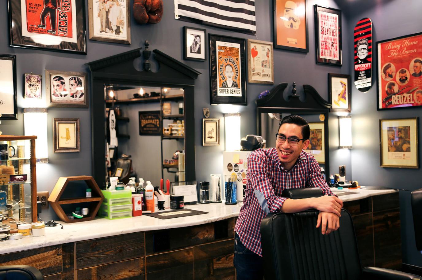 Marco, barber