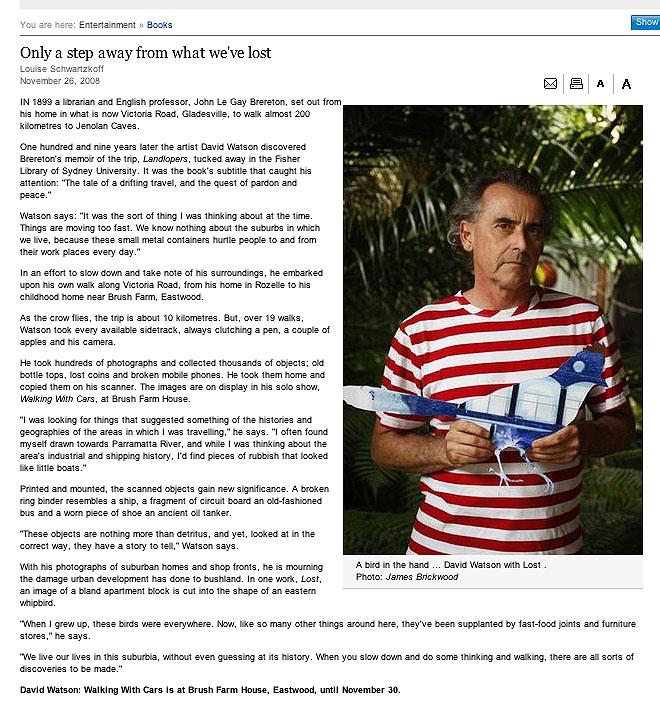 The Sydney Morning Herald    26 November 2008