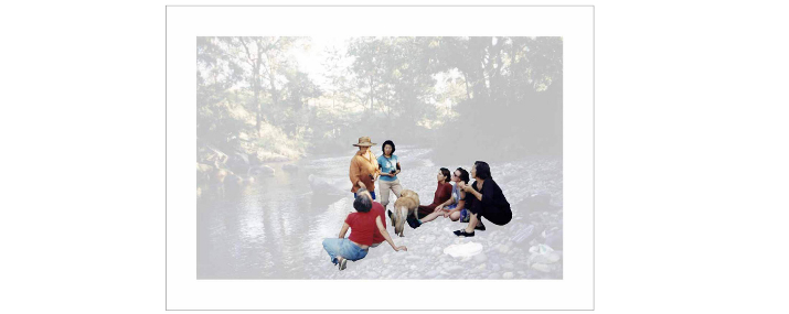 Vanishing Point  , 2009   Lambda print behind 3 mm perspex,50 x 70 cm