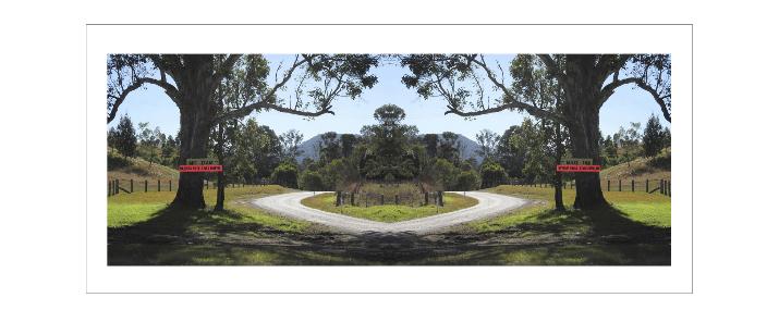 No Dam|Mad On , 2011   Pure pigment print onarchivalart paper,82 x 188 cm