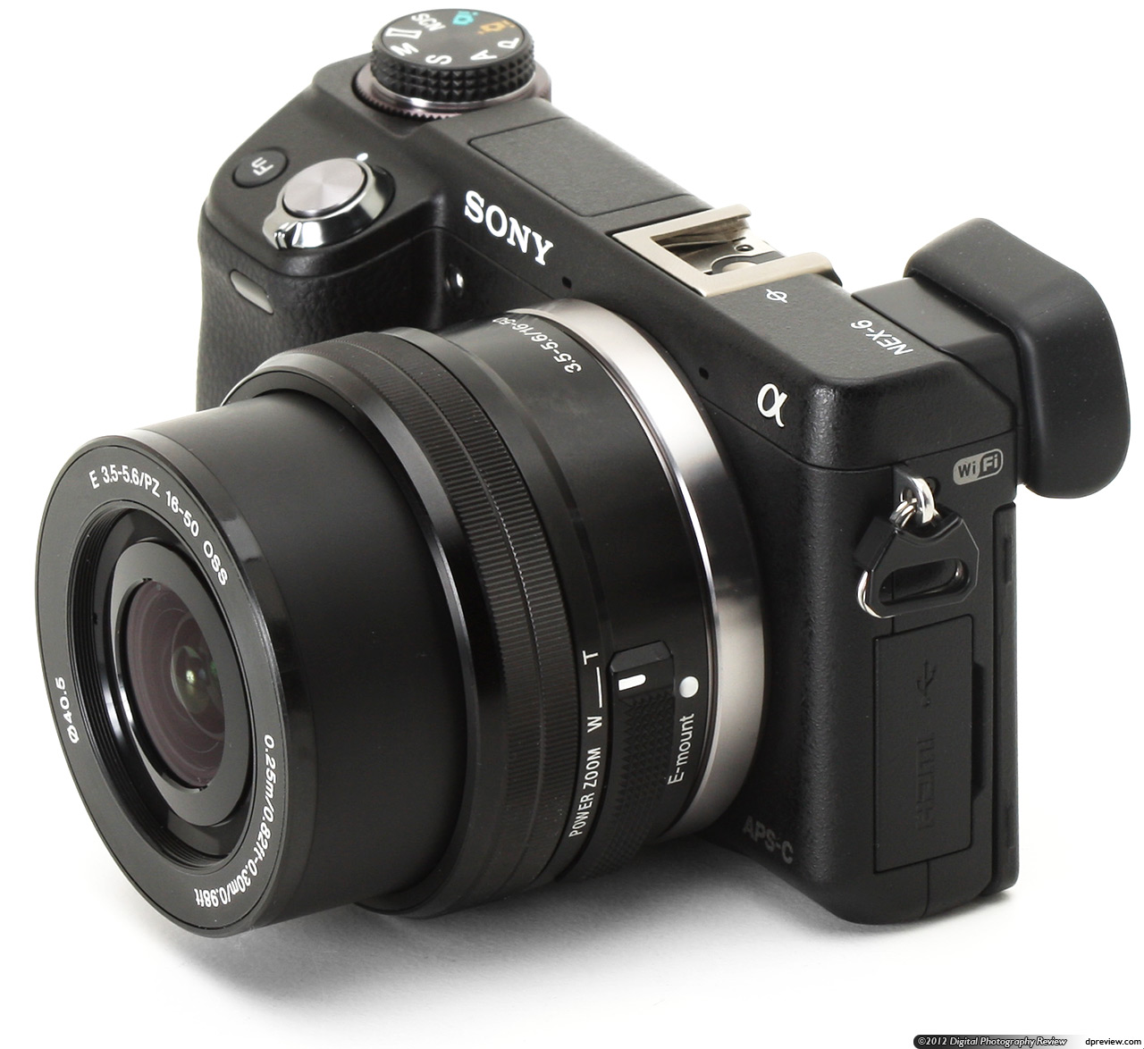 Sony Nex-6 with 16-50mm lens