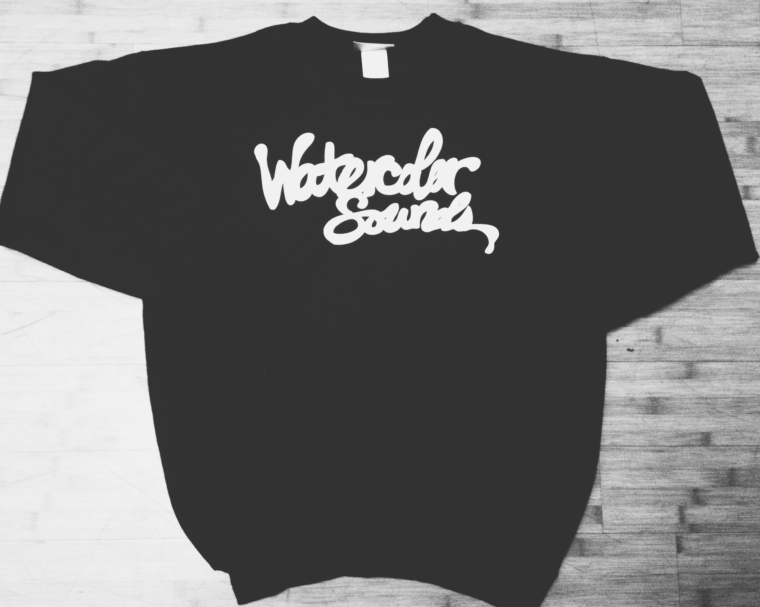 WaterColor Sounds Music Group   (Crew Neck/Black/White)