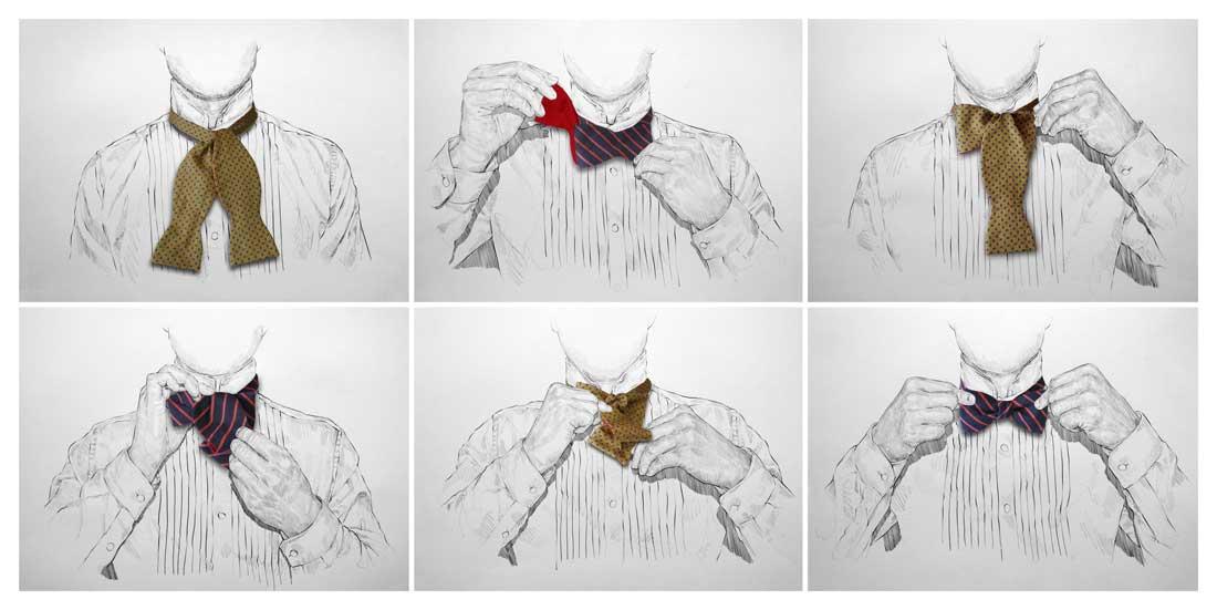 BHLDN / Bow tie tutorial