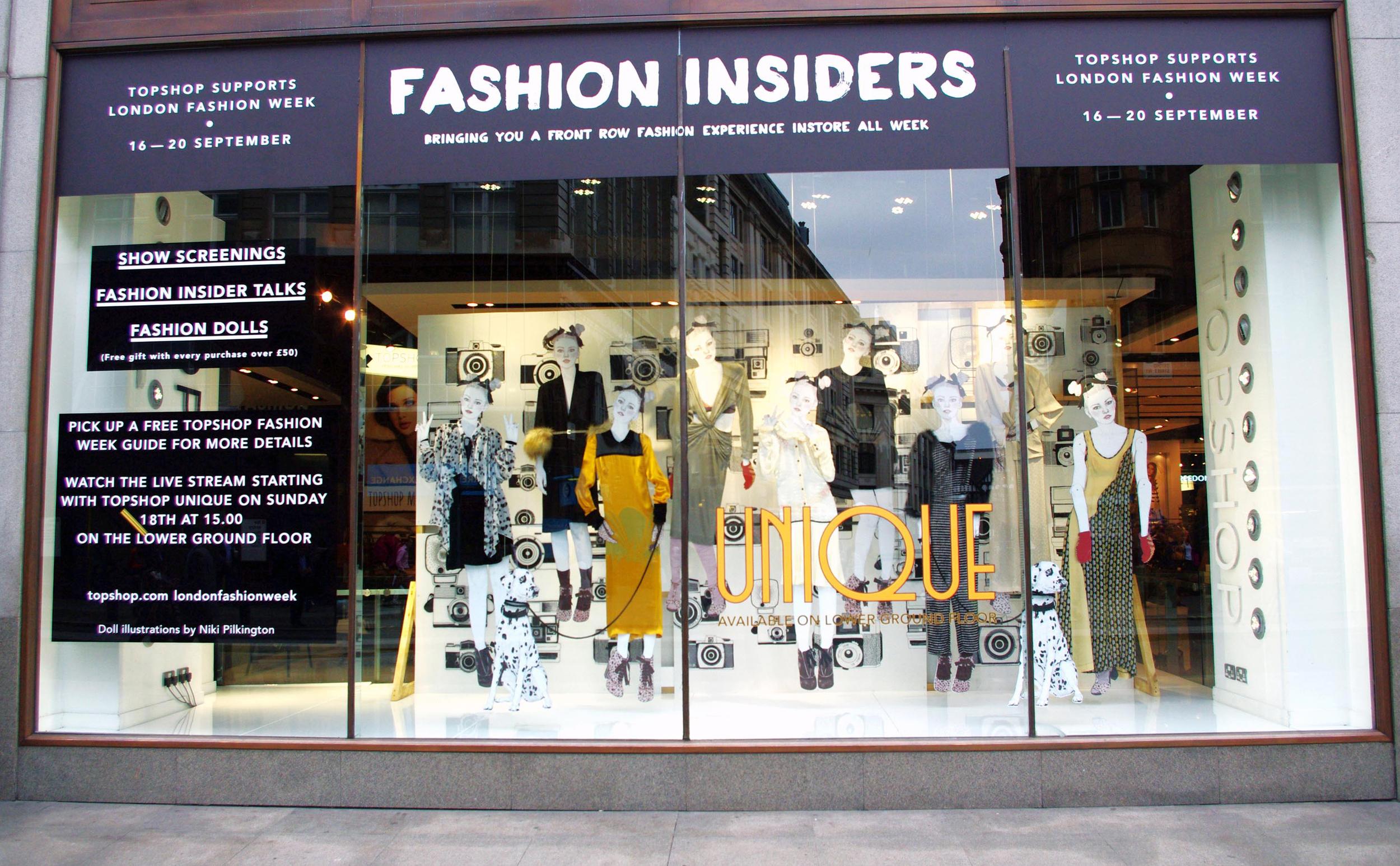 TOPSHOP / Oxford St. Graduate Fashion Week