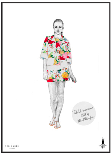 TED BAKER / Promotional material