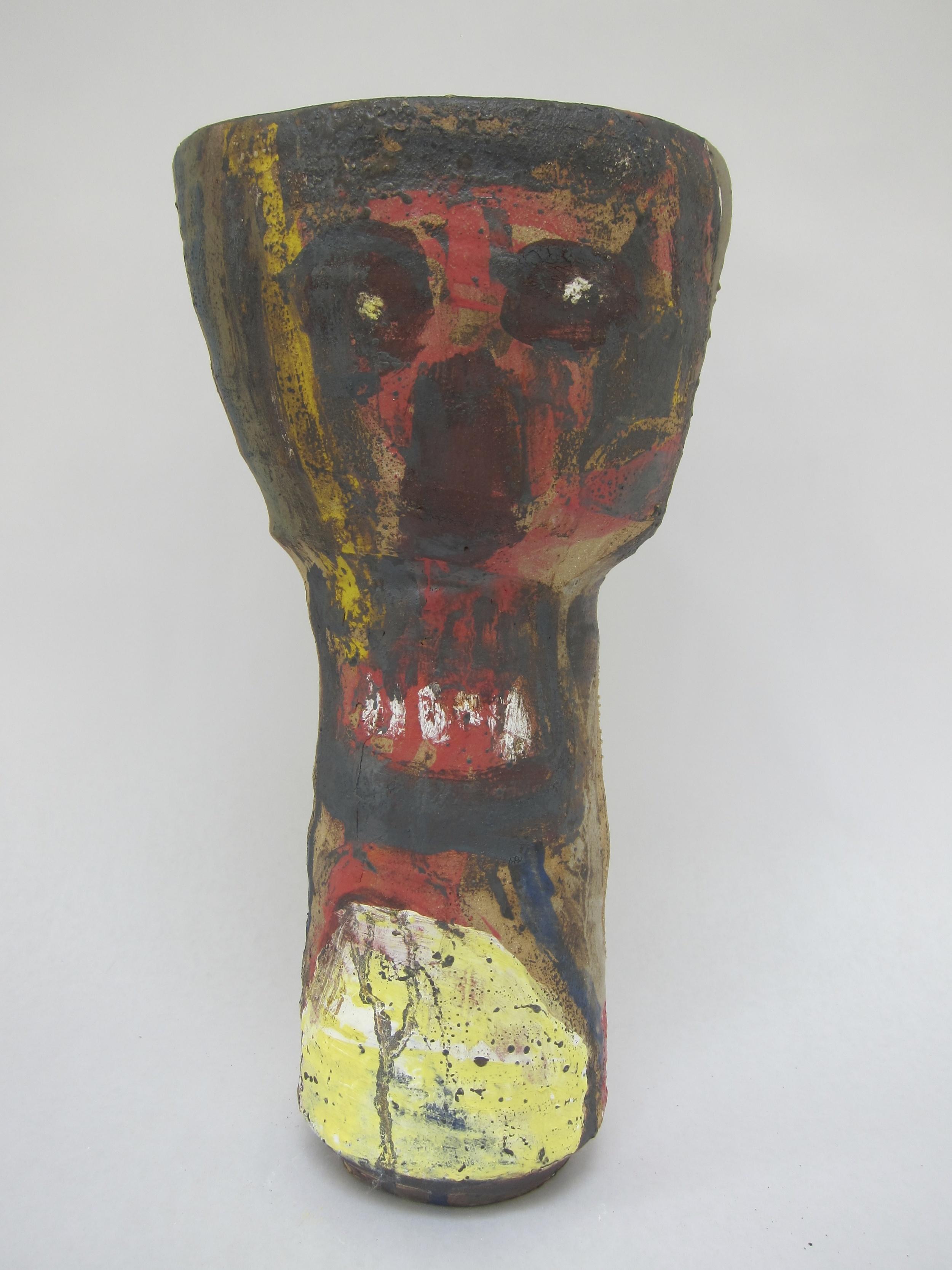 Roger Herman,  Vase for Munch , 2016, stoneware.  © Rebecca Fanuele