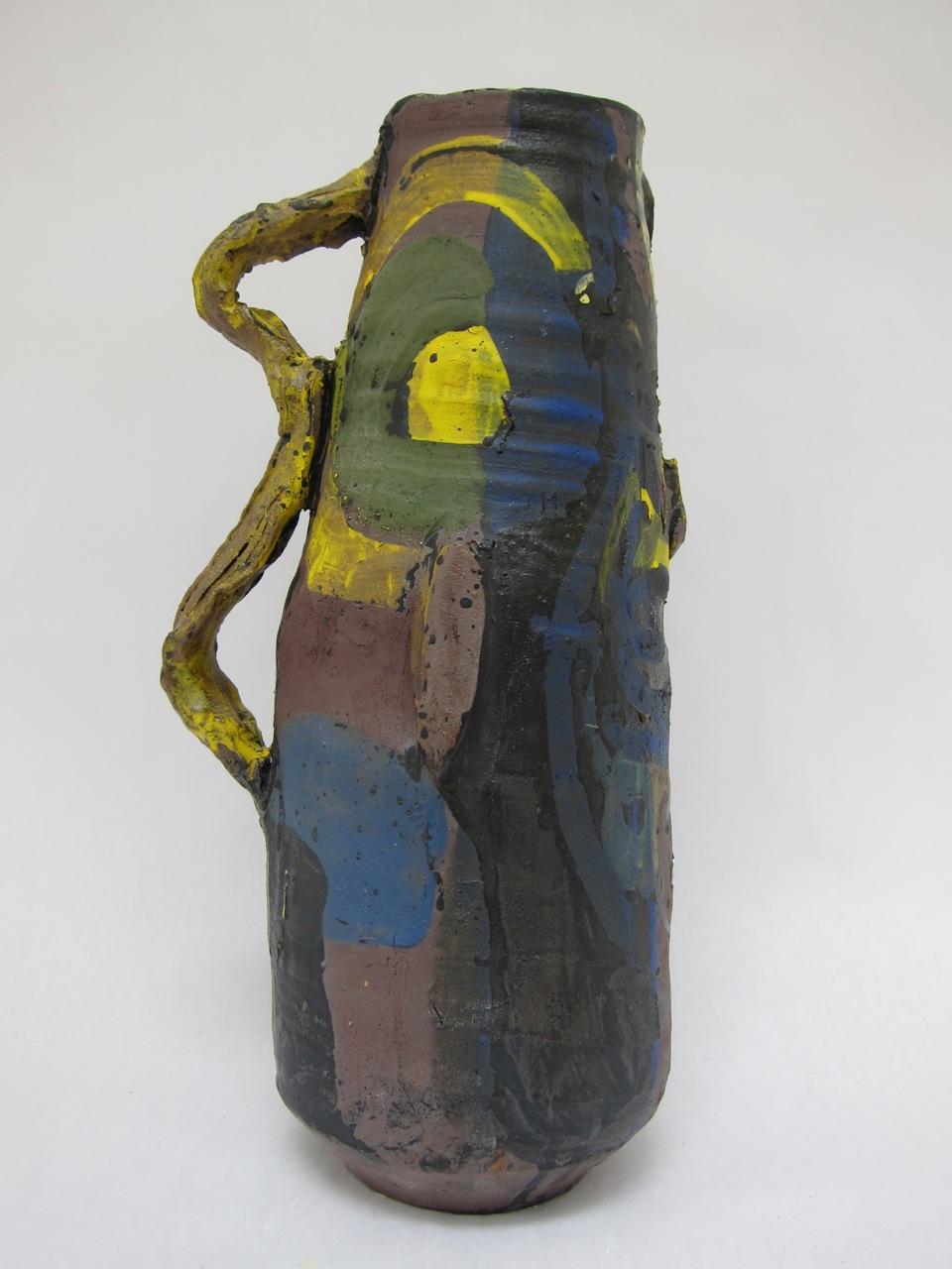 Roger Herman, Vase for Vuillard , 2016, stoneware.  © Rebecca Fanuele