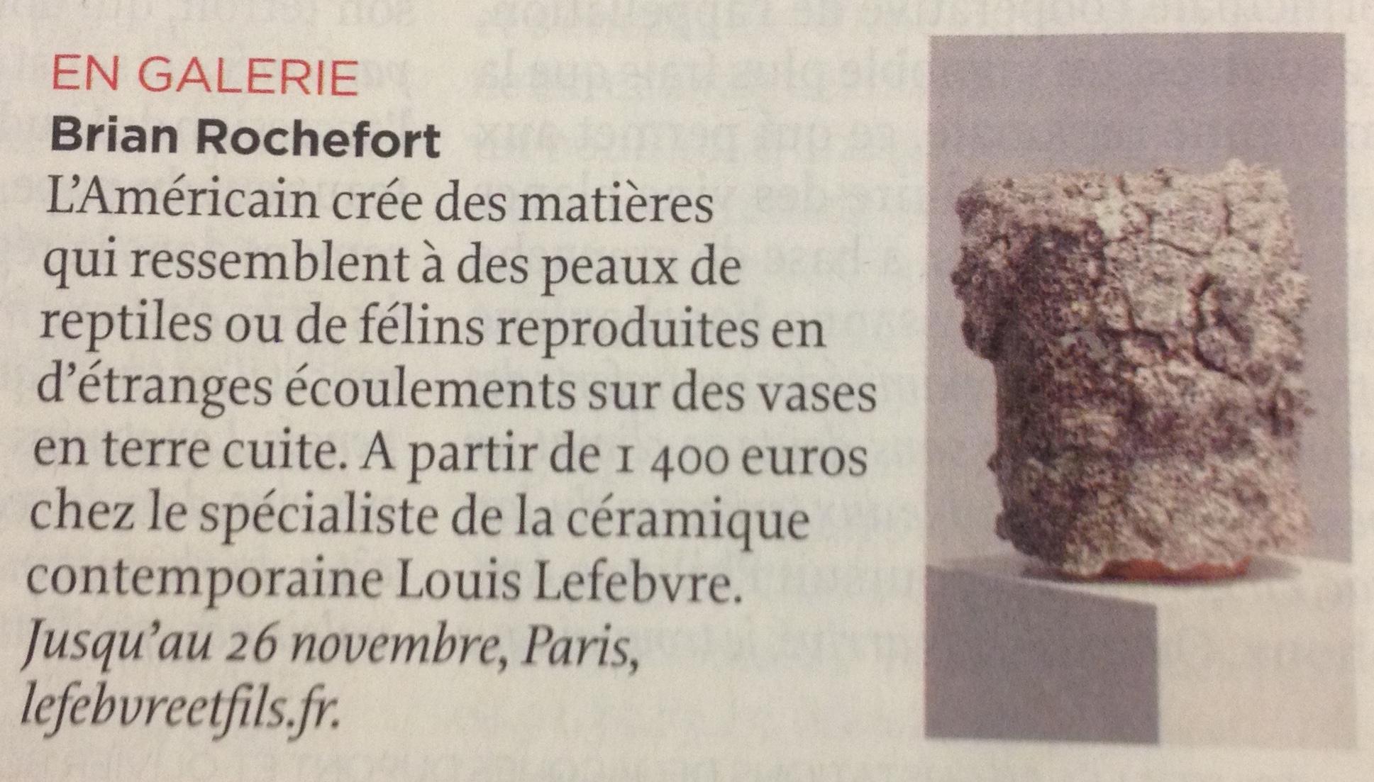 Article de Judith Benhamou-Huet dans Le Point.