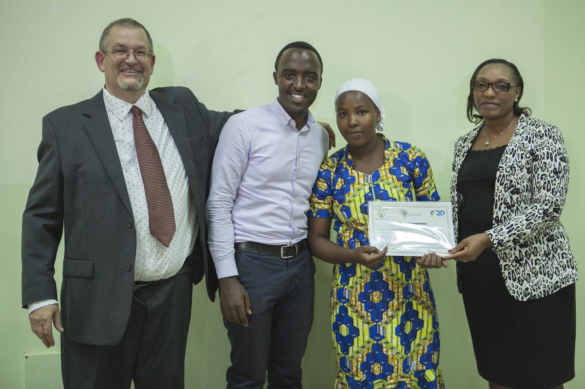ADMA Graduate Didacienne Mujawimana