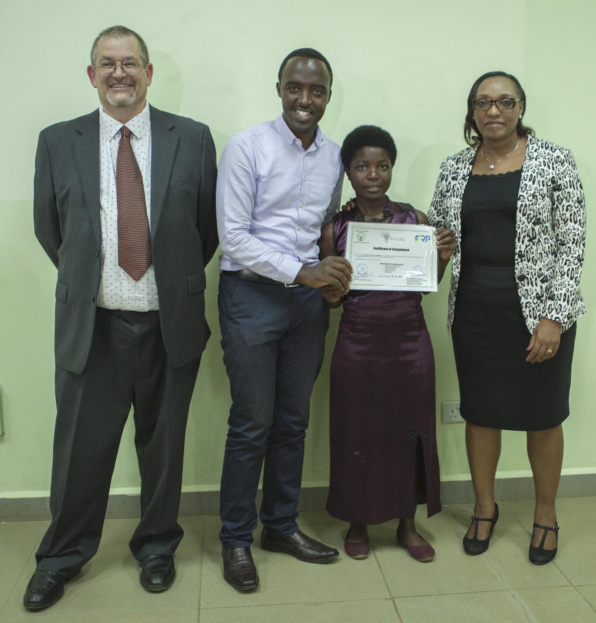 ADMA Graduate Josephine Uwineza