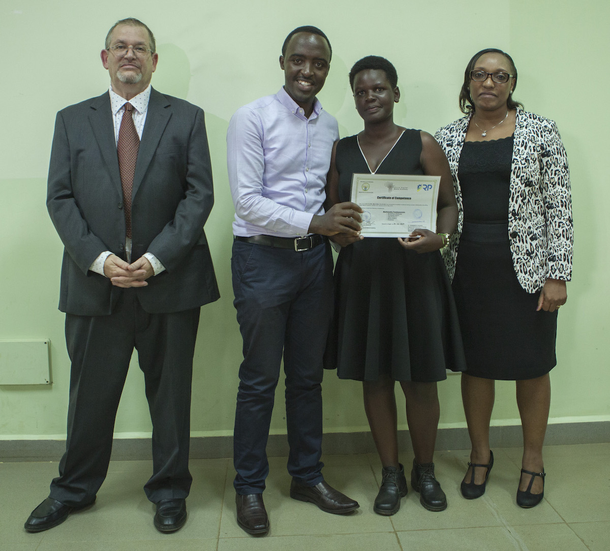 ADMA Graduate Marie Merci Alleluia