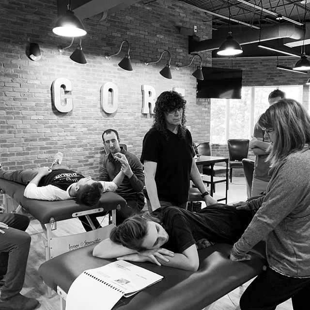 """And just like that, """"Manual Therapy for the Cervical Spine and Thoracic Cage"""" is complete!  Thank you to everyone for their dedication and learning.  It was another great day.  We look forward to seeing you next time.  If you are a PT, PTA or LMT and are interested in joining us for our next class, """"Functional Causes and Treatments for Low Back Pain"""" visit our website, www.body-connections.com to register!"""