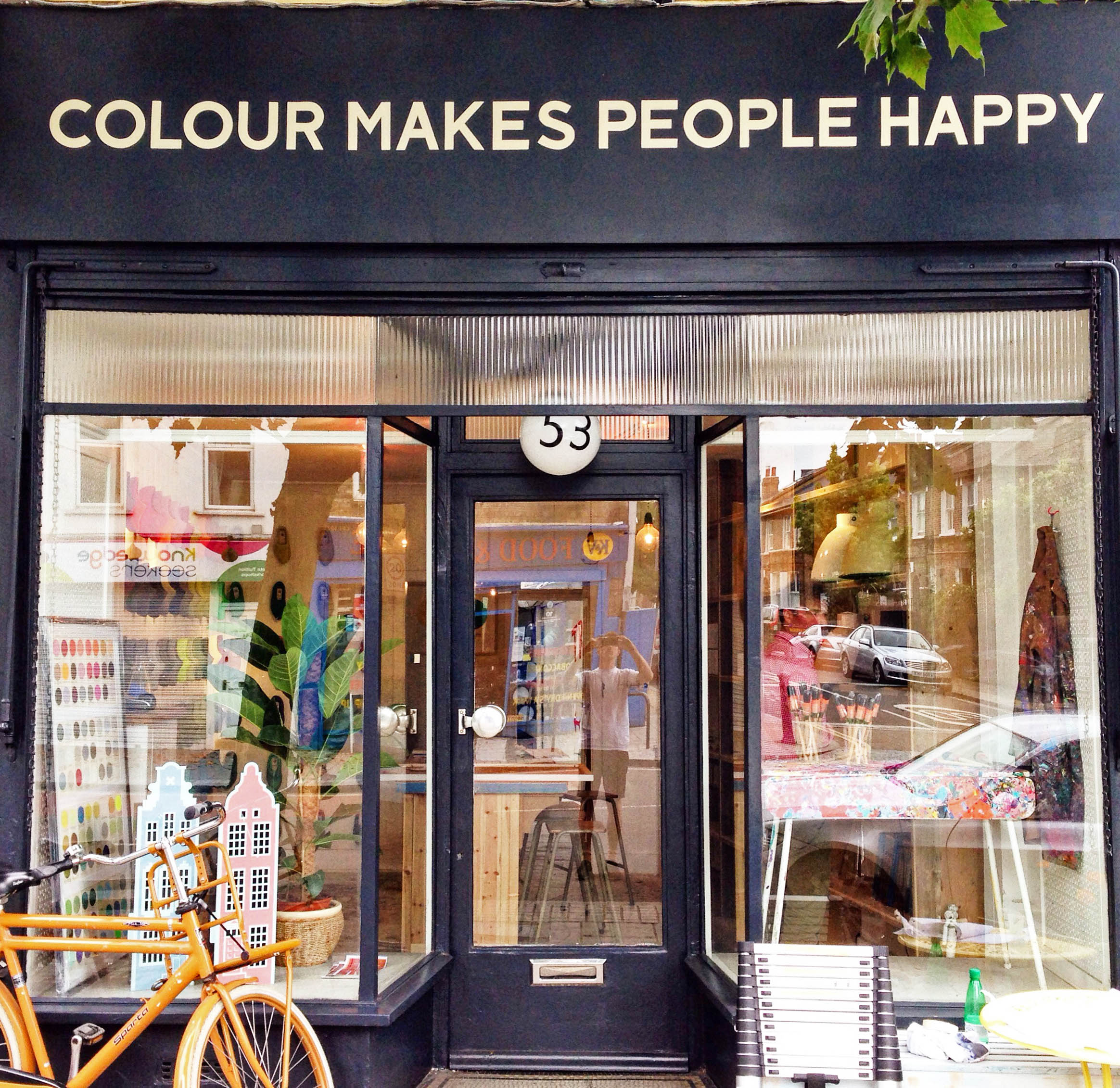 Colour Makes People Happy Archie Proudfoot