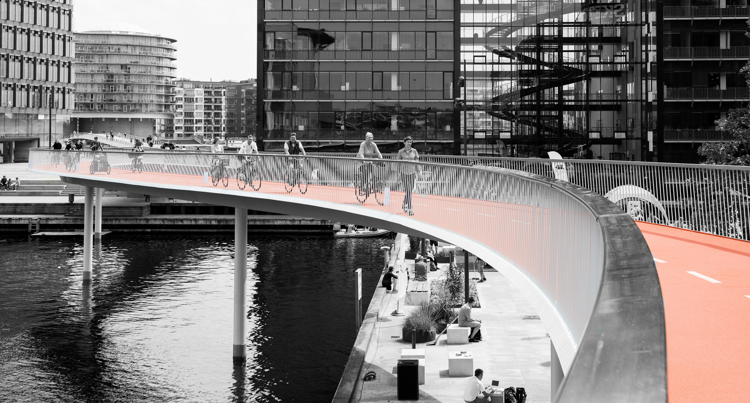 """A+ Awards, Highways & Bridges 2015    The Bicycle Snake  received first prize at Architizer's  A+ Awards  in the """"Highways & Bridges"""" category.  ECCO Hotel and Conference Centre  was also nominated in the """"Sustainability"""" category."""