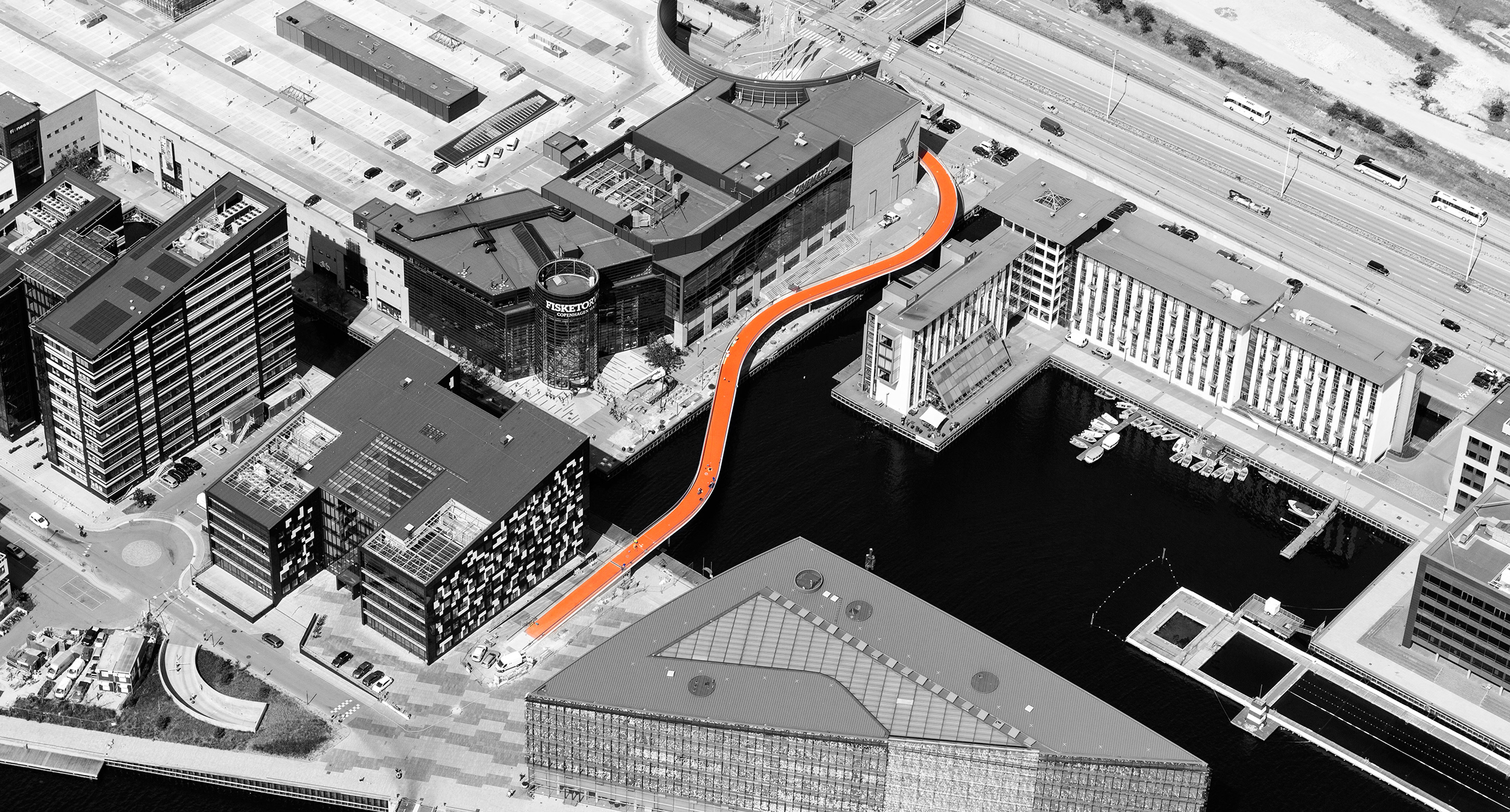 European Prize for Urban Public Space   , 2016   Copenhagen as a city,  The Bicycle Snake  and two other projects were winners of the European Prize for Urban Public Space in 2016.