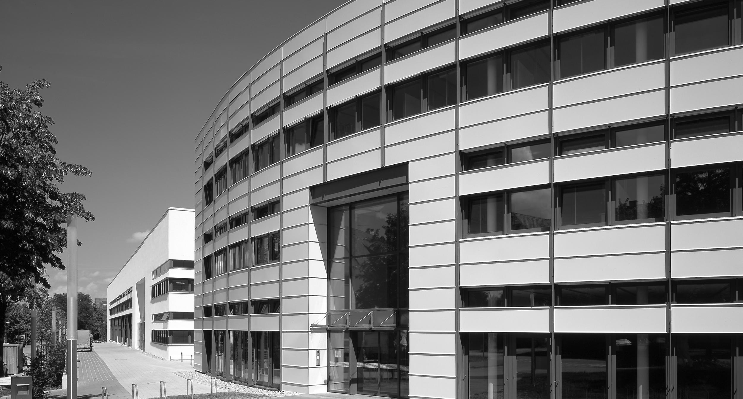 Architecture + Technology Award 2003   For Fraunhofer Institute for Solar Energy in Freiburg, Tyskland.