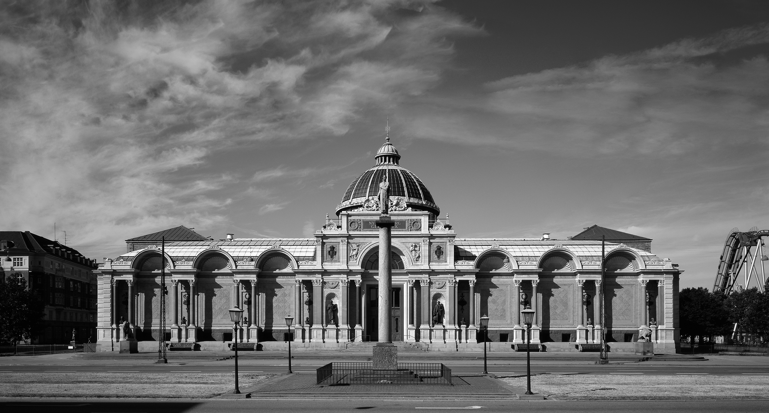 """Selected Constructions, """"Byggeri"""" Journal 2006    Ny Carlsberg Glyptotek  restoration was awarded the prize for Selected Constructions 2006 in the open category by the journal """"Byggeri""""."""