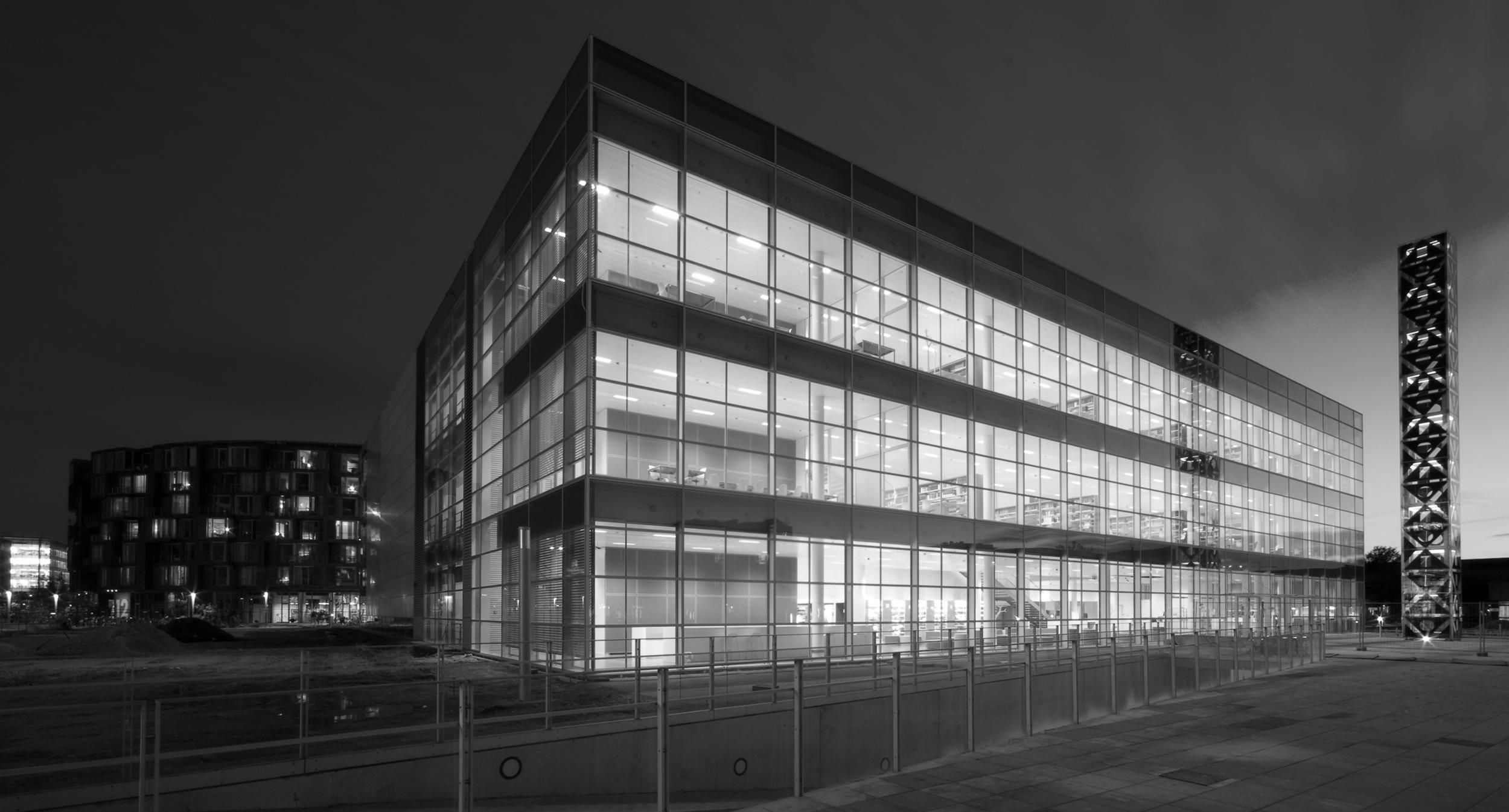 G-Mark, Good Design Award 2001   For Copenhagen University Library, South Campus.