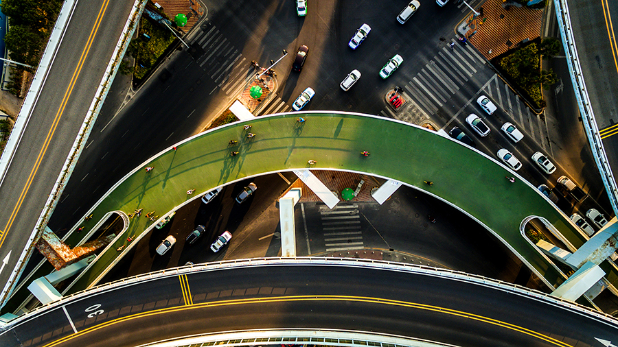 厦门空中自行车道