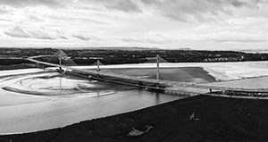 The Mersey Gateway Bridge is rewarded  Outstanding Structure Award  2019  by IABSE.