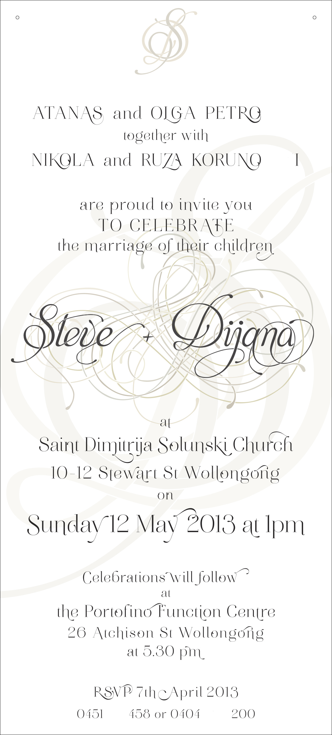 D and S full invite