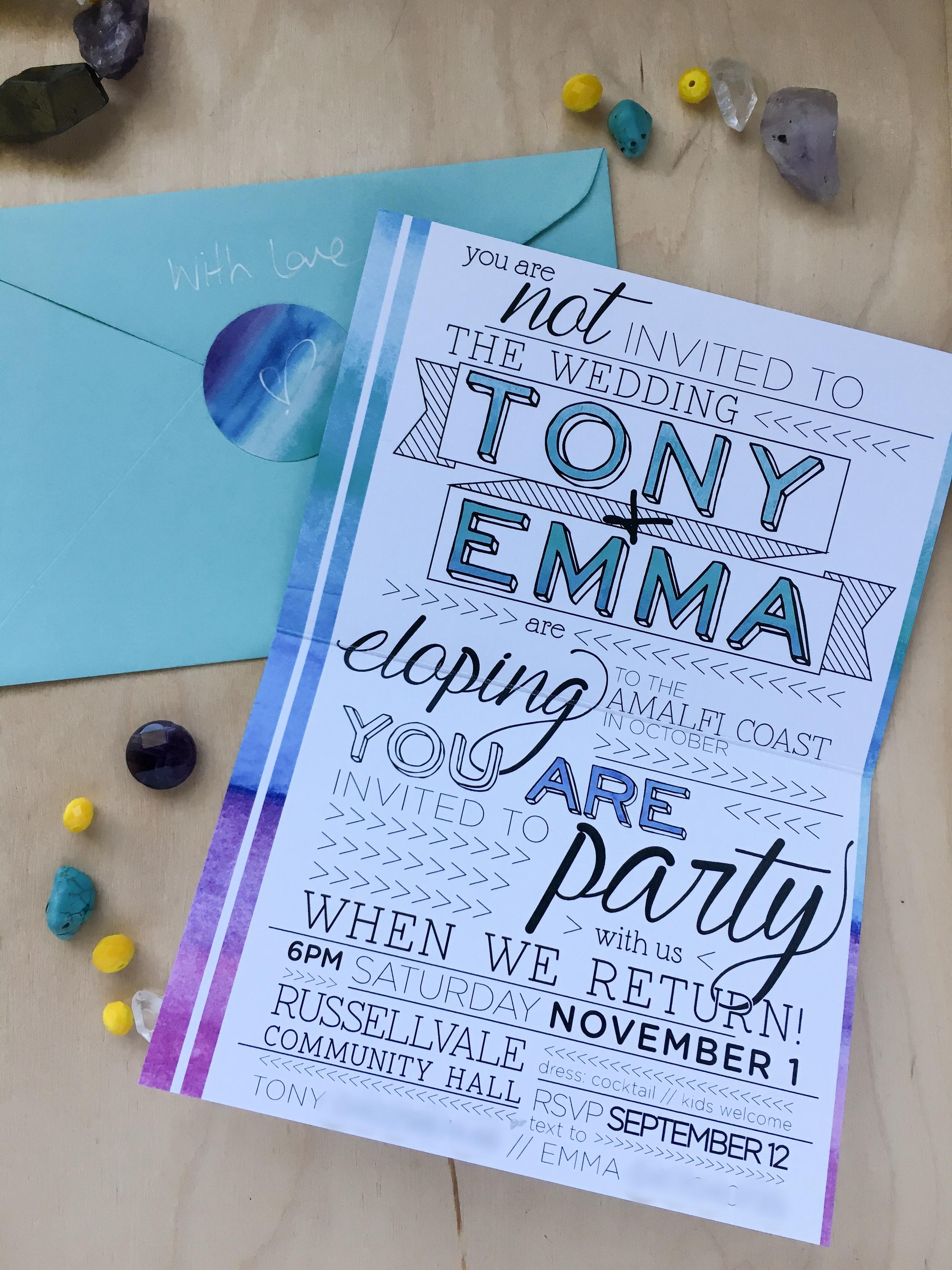 Emma & Tony inside