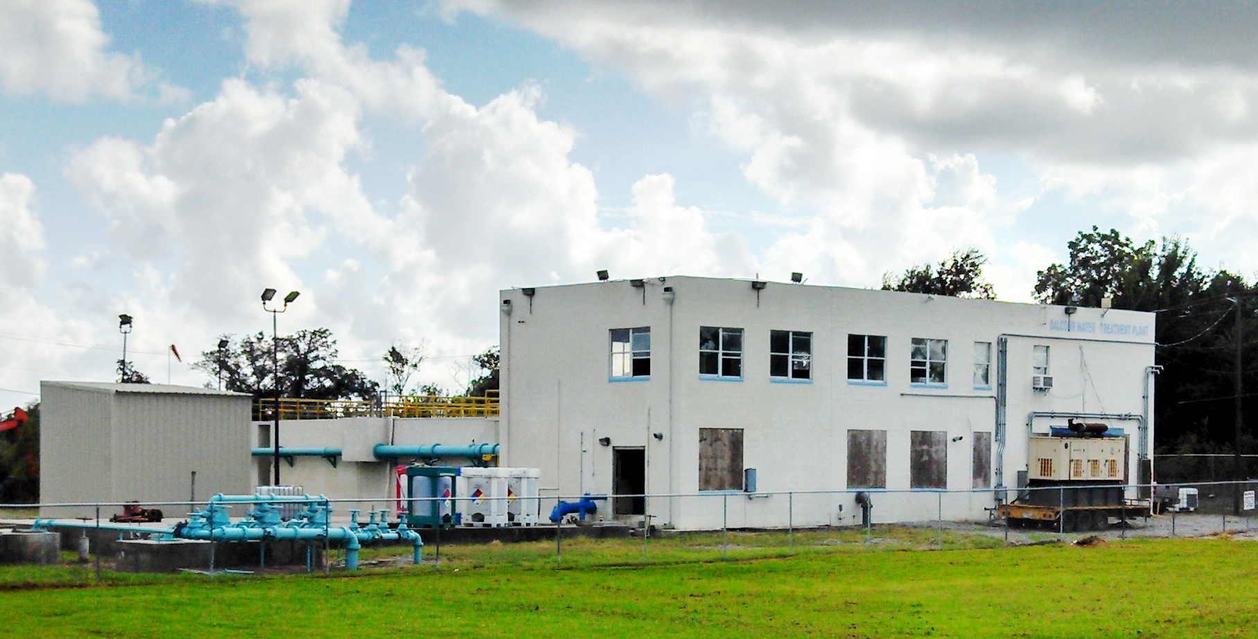 Water Treatment Plant , Dalcour, LA