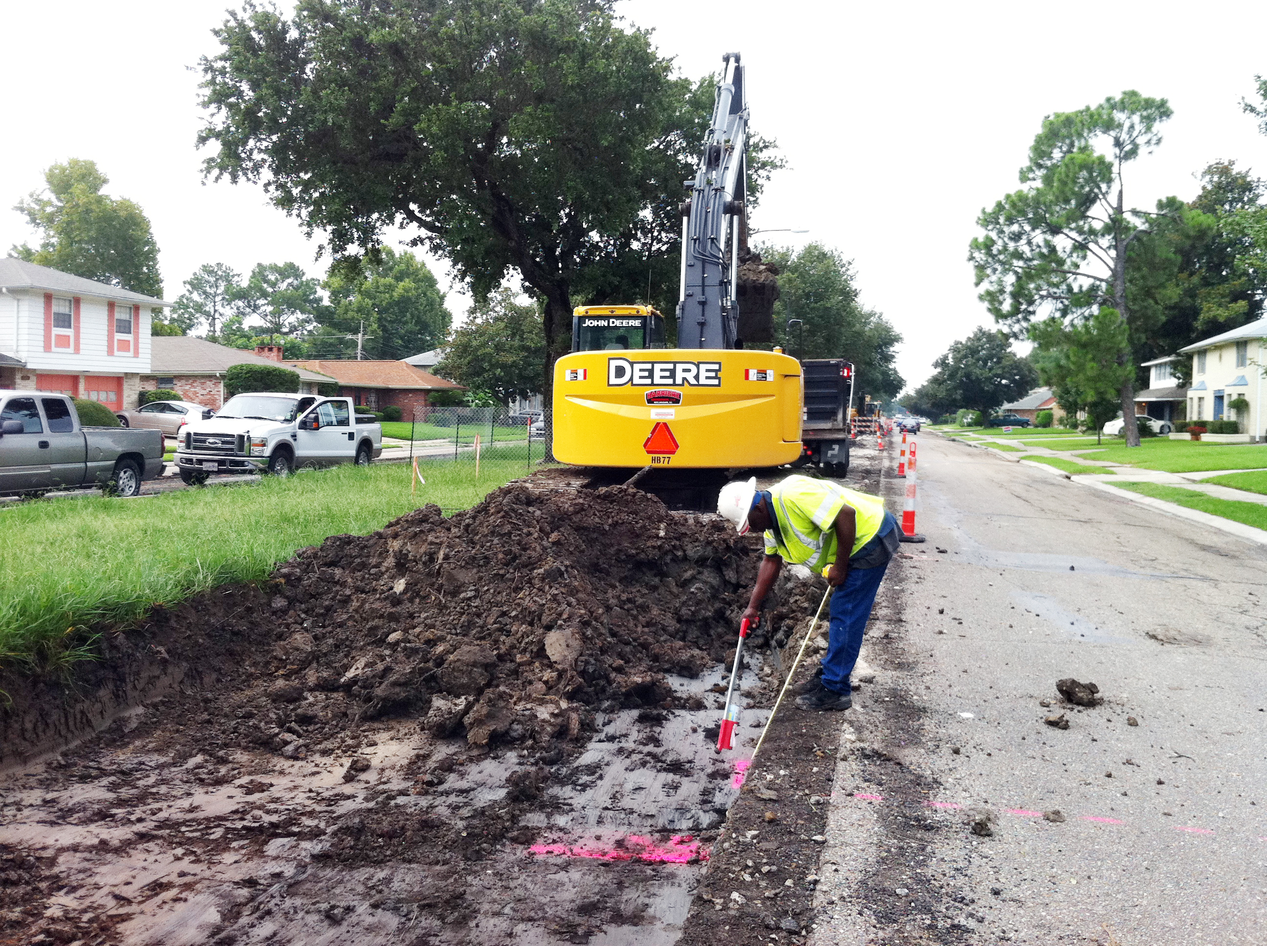 Holiday Drive Reconstruction, New Orleans, LA