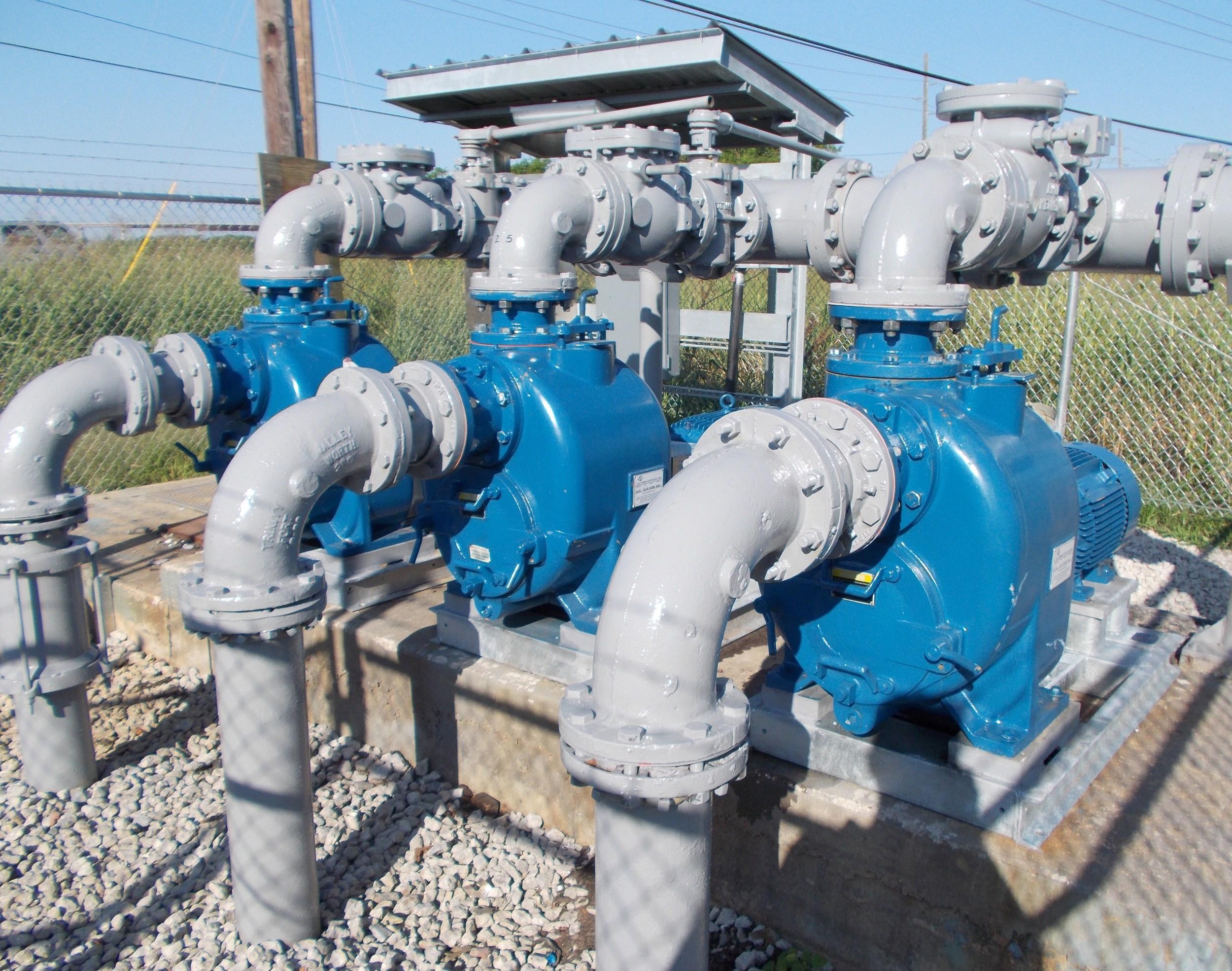 Triplex Sewer Lift Station, Buras, LA