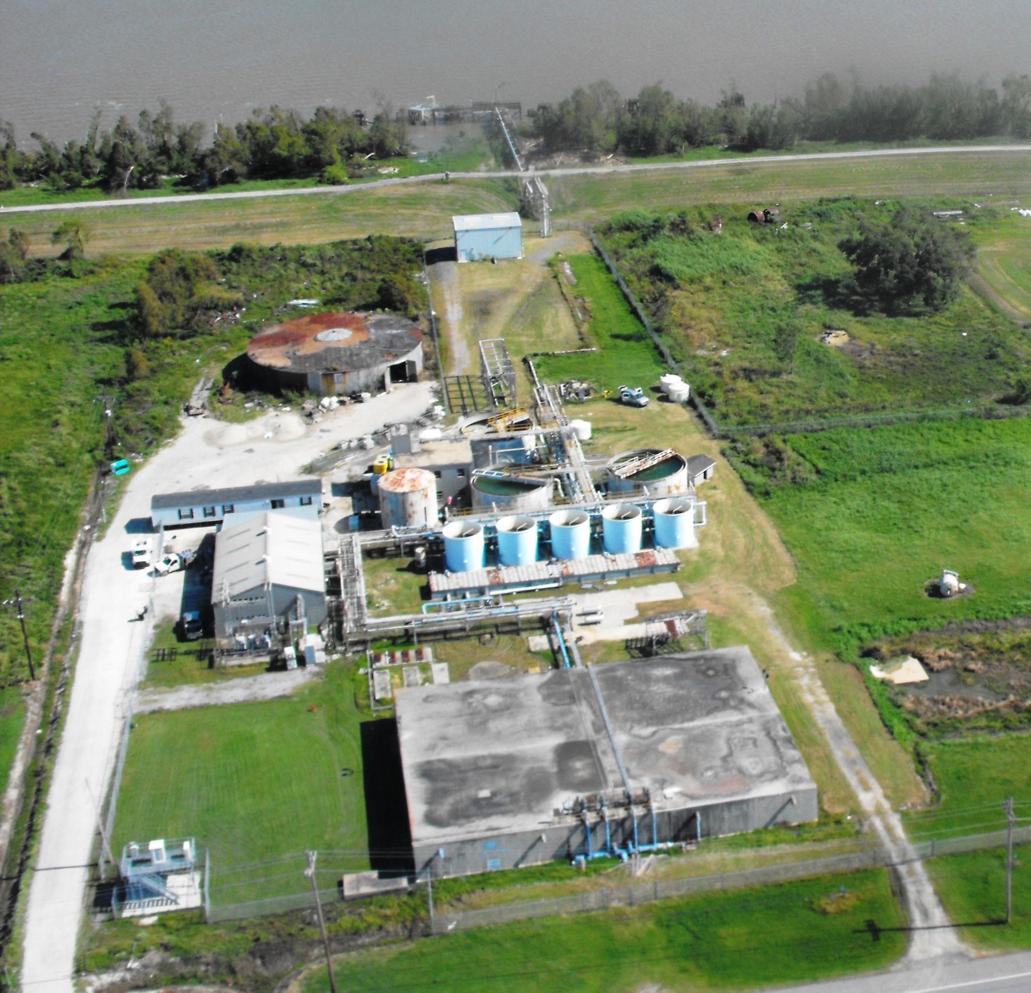 Water Treatment Plant, Port Sulphur, LA