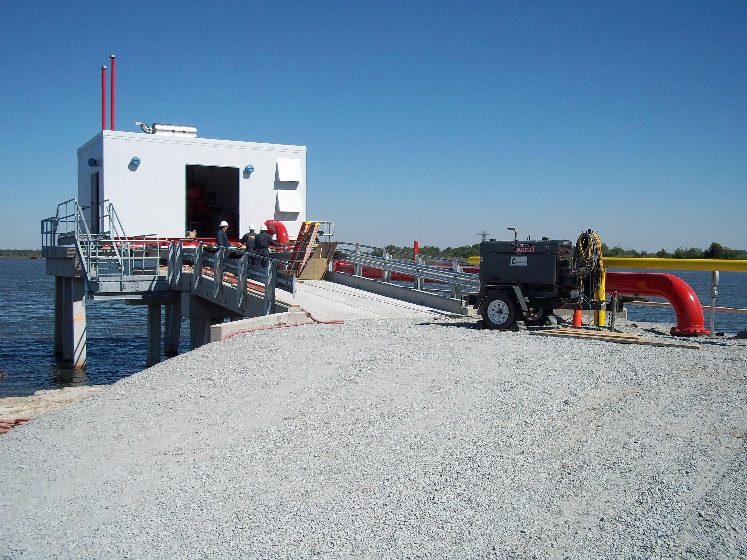 ConocoPhillips Raw Water Intake, Lake Charles, LA