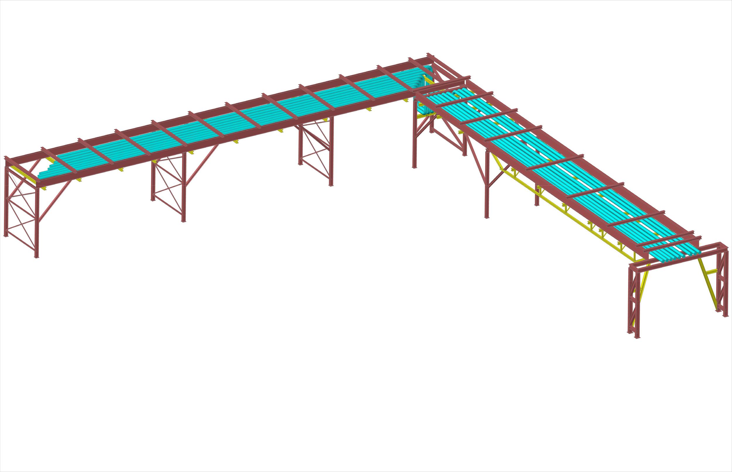 Pipe Rack - Preliminary 3D Model