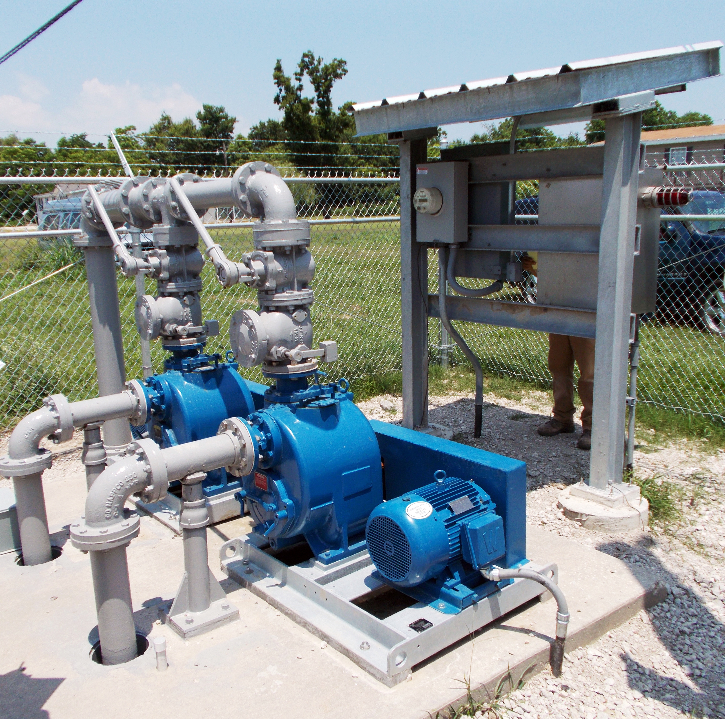 Duplex Sewer Lift Stations, East Bank Plaquemines Parish, LA