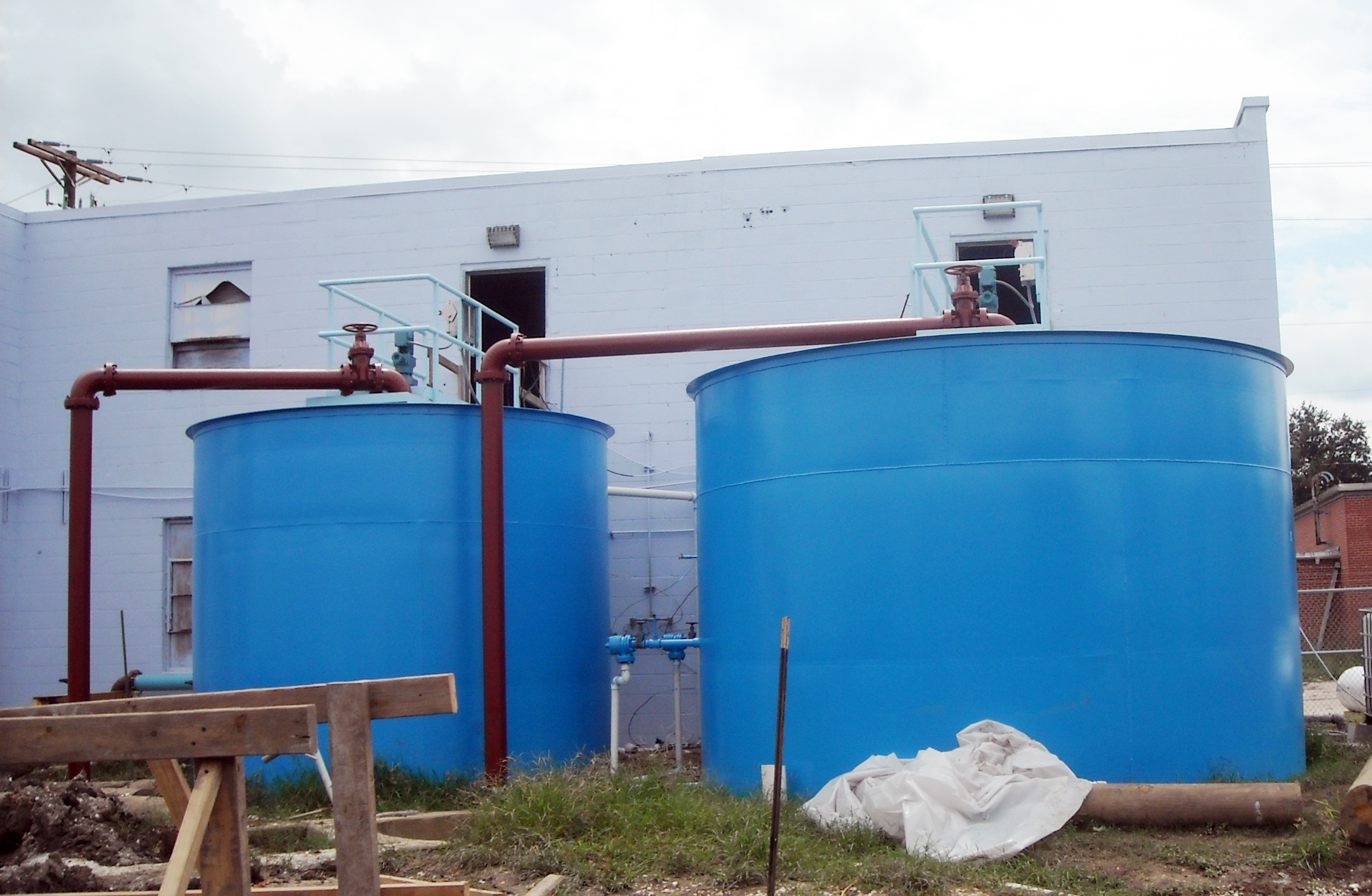 Water Treatment Plant, East Point a la Hache, LA