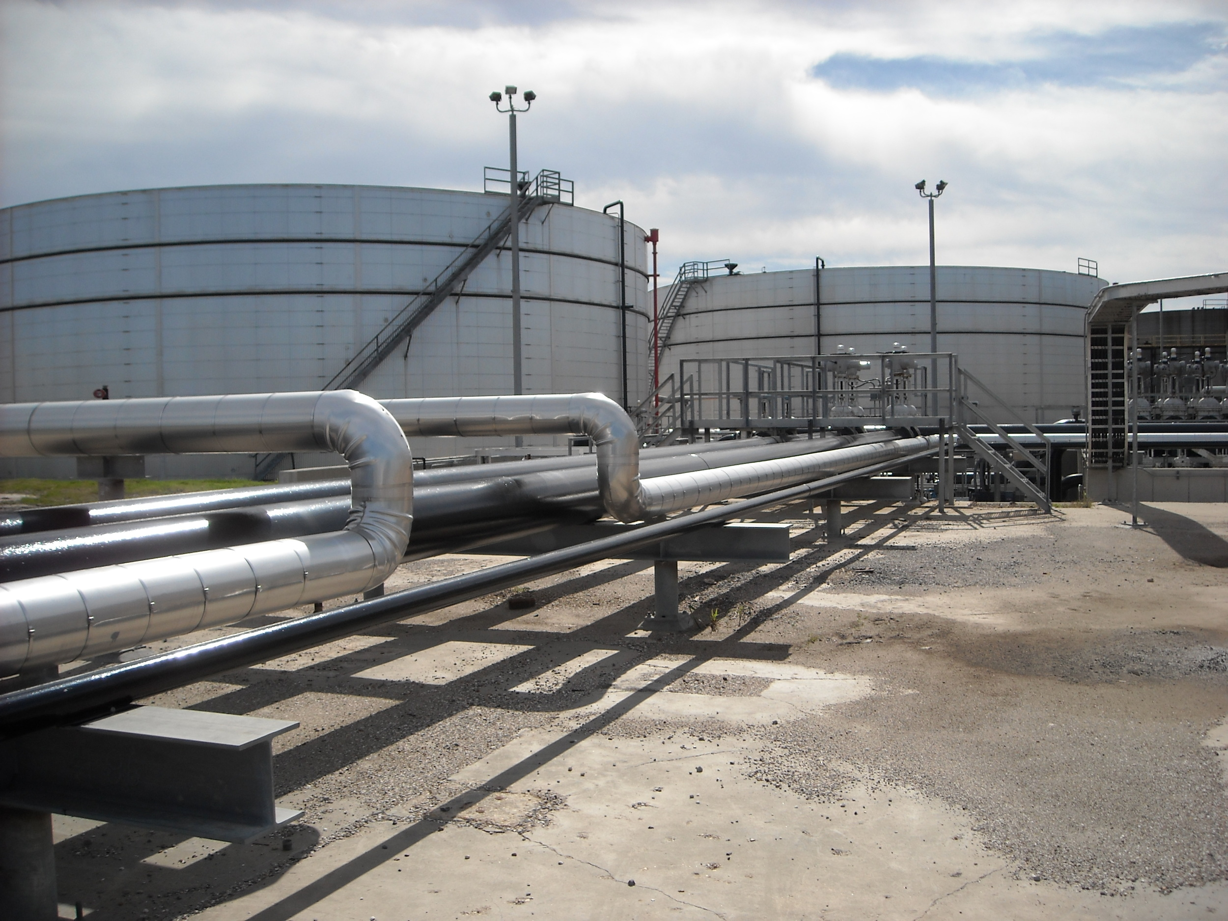 Oil Storage Tank Modifications
