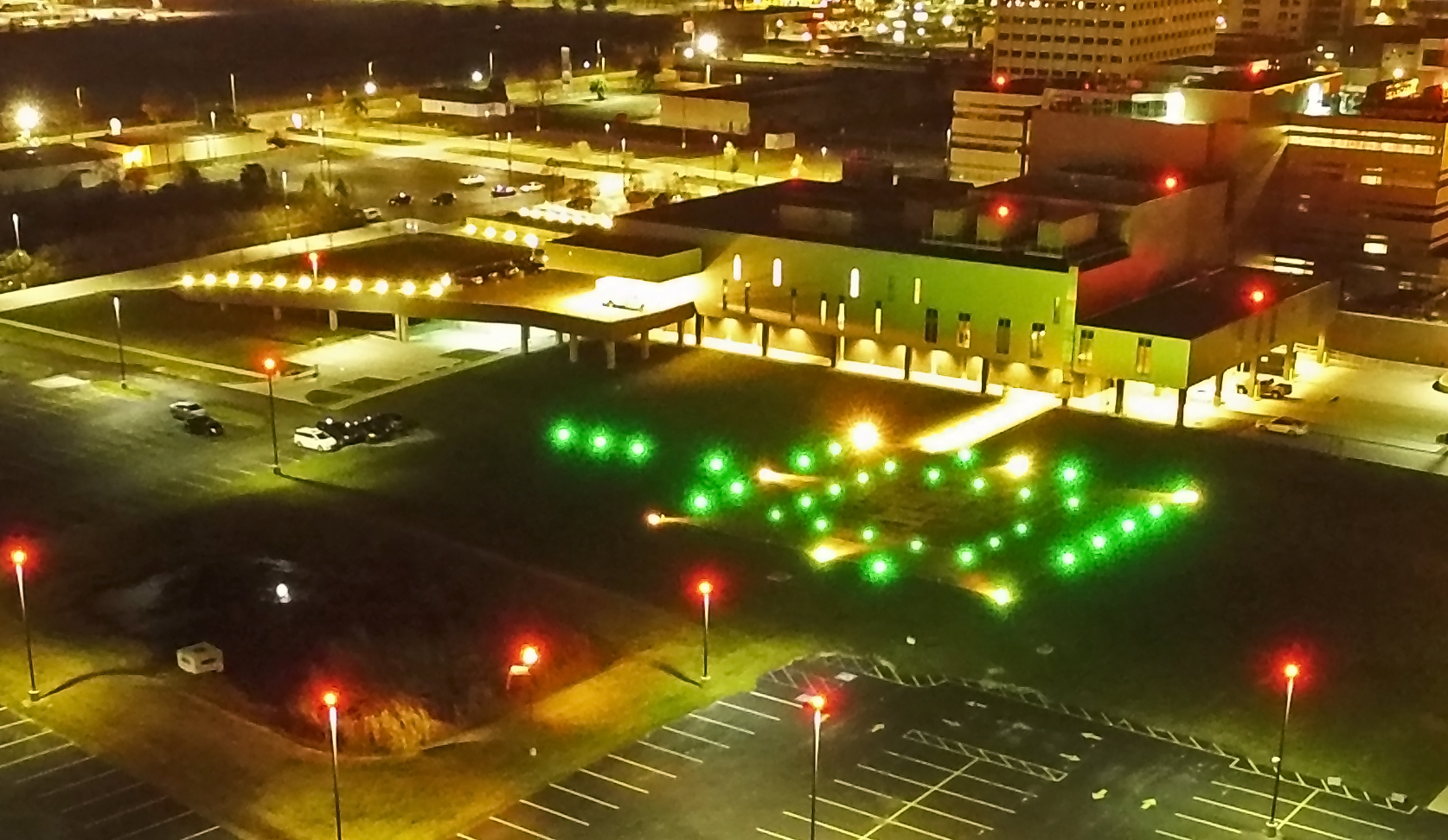 New Orleans East Hospital Helipad