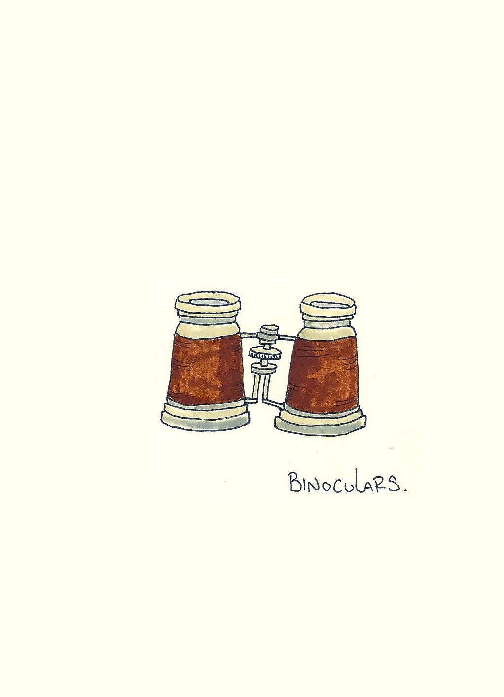 Binoculars. Kathryn Zaremba 2013