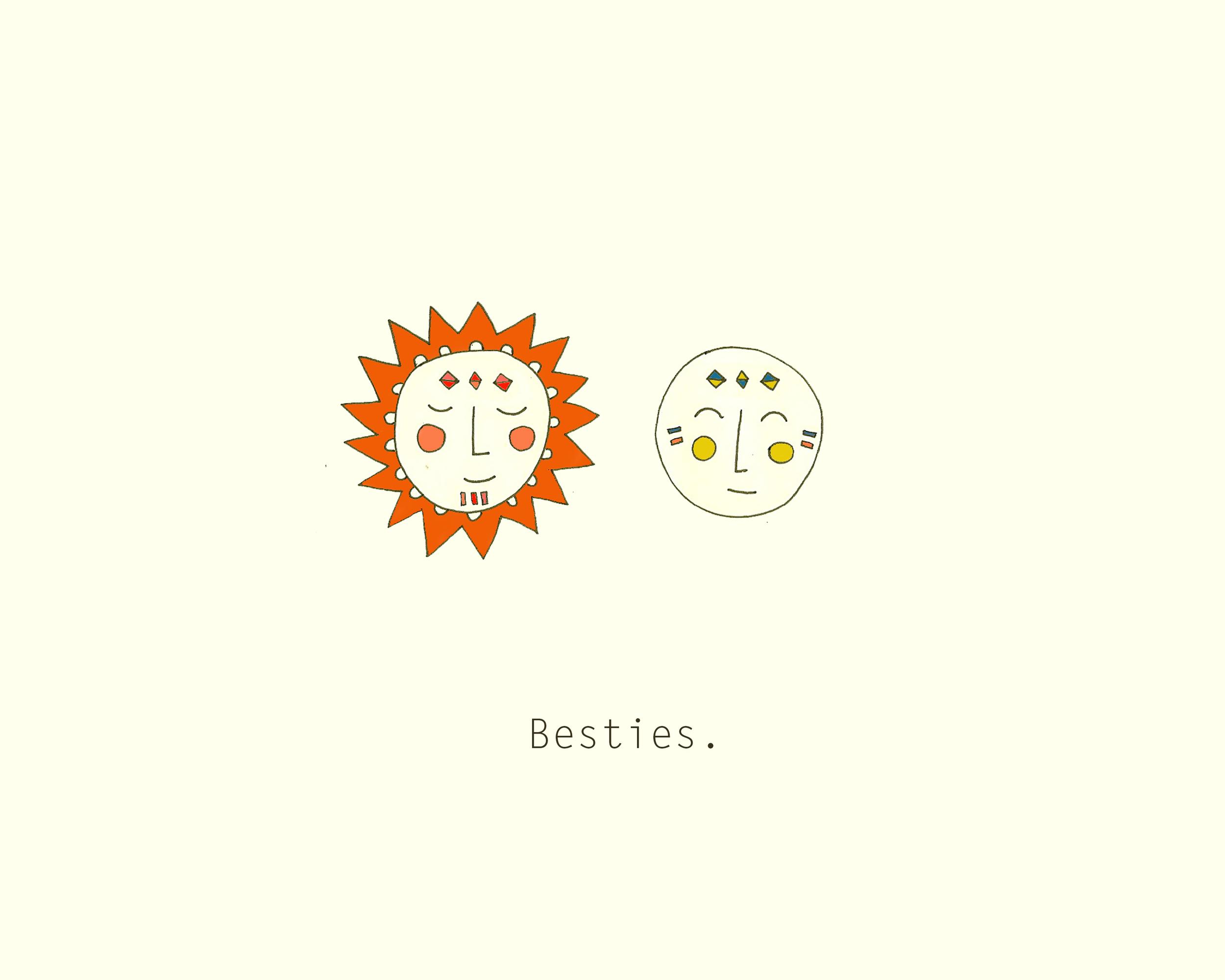 Sun and Moon. Kathryn Zaremba 2013