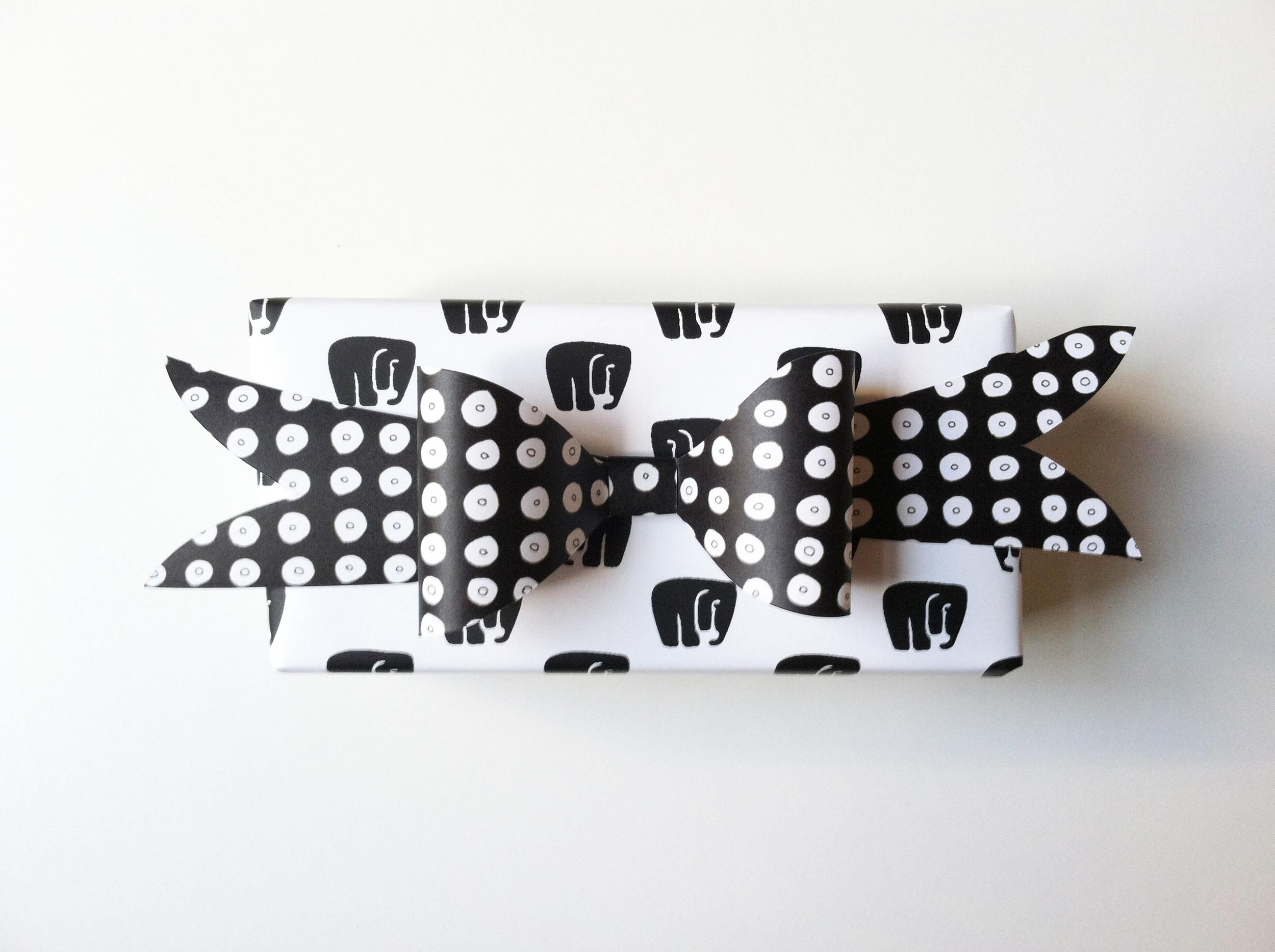 Elephant Gift Wrap by Kate Zaremba COmpany 2014
